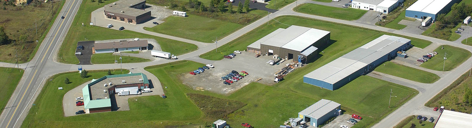 Aerial view of Elizabethtown Kitley Business Park