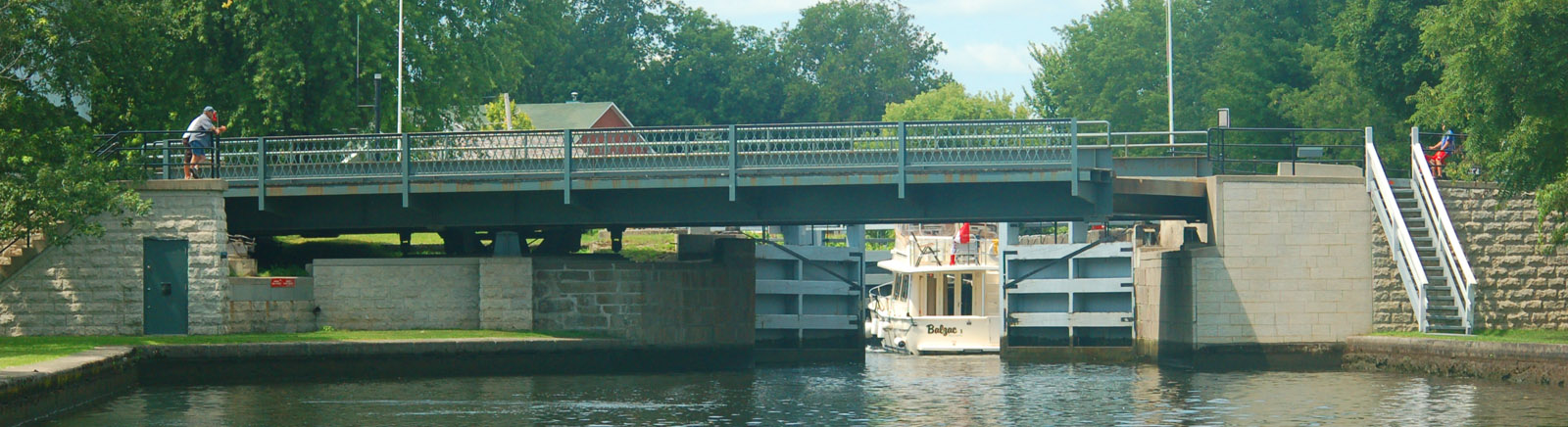 Merrickville Swing Bridge