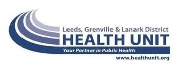 Leeds, Grenville & Lanark Health Unit logo