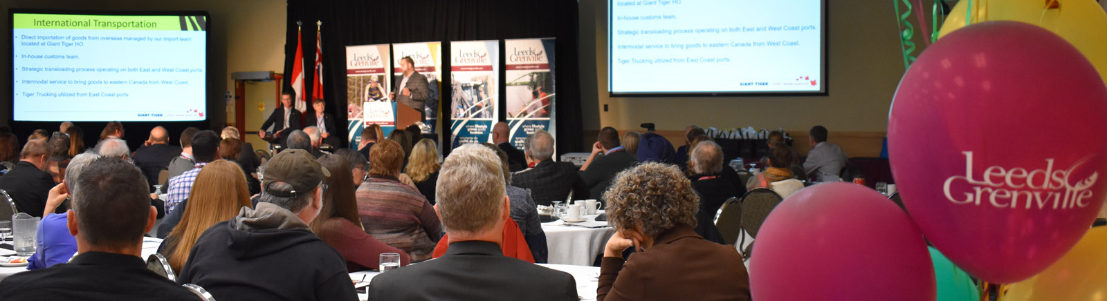 Audience at 2019 Leeds Grenville Economic Development Summit